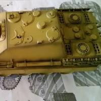 1/48ドイツ駆逐戦車ヤクートパンダー(後期型)その2