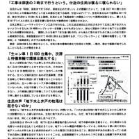 「春日井リニアを問う会ニュース 12号」 (春日井リニアを問う会)