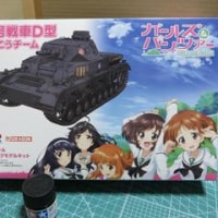 IV号戦車D型 あんこうチーム(GP72-9)購入レポート(校正版)