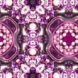 無料動画素材11 「手毬風ミラーボール花柄」