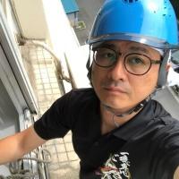 亀戸2丁目団地のエアコン工事(高所工事)