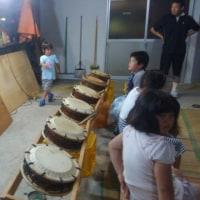平成29年太鼓の練習始まりました。