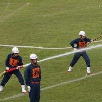 消防演習そして総会