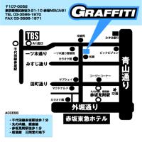 【LIVE INFO.】5/1(月)赤坂GRAFFITI
