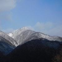 打見山と堂満岳