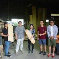 アーティストでありスケートボード職人な田中克典氏の工場を見学レポート!