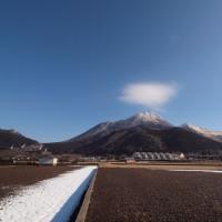 2月の由布岳