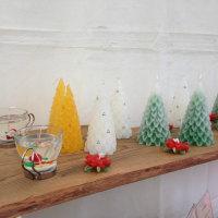 クリスマス用にキャンドル作りました