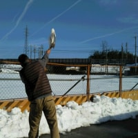 大雪と体力づくり