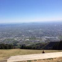 やっぱり登ってしまいました。
