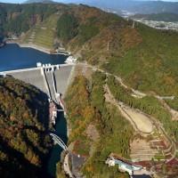 関東地方☆神奈川県☆日本一大きい重力式コンクリートダム