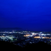 夜景百選 愛宕山からの夜景