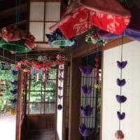 紫陽花と風鈴