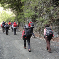 ユーシン渓谷ハイキング