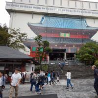 日光山輪王寺三仏堂の改修工事をたまたま見てきました。