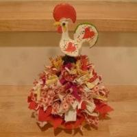 幸運を呼ぶガロのクリスマスツリー (赤×白×黄色)