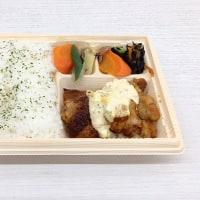 おまかせ御膳 揚げないチキン南蛮を頂きました。 at セブンイレブン 横浜クロスゲート店