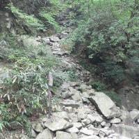 安座の滝コース①