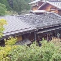ここは中山道 妻籠宿 (妻籠宿の写真)