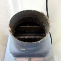 トイレ換気扇手間の掛かる交換工事でした。三菱VD-10ZC10