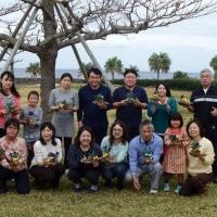 沖縄・海洋博公園で トピアリー教室