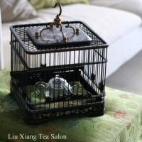 茶箱と鳥籠と急須と