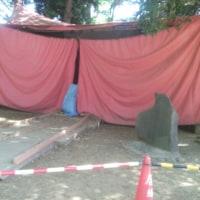 ん!テント小屋