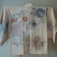 縫い取りお召の羽織の使い道