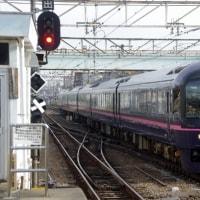 485系ジョイフルトレイン「華」@豊田駅