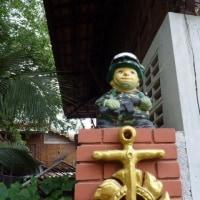 ワットバンクーンに兵隊人形を見た