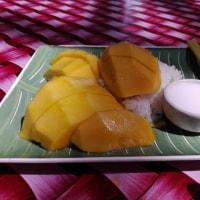 最終日にカオニャオマムアン(マンゴーご飯)