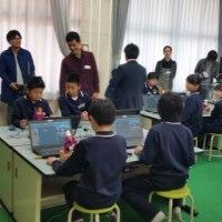 プログラミング教室開催中