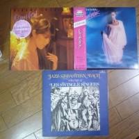 久しぶりに中古アナログレコードを買ってきました。