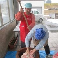 寒餅(挽餅)作り講座報告(^O^)