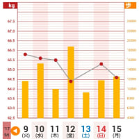 歩数計アプリ