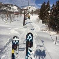今日の赤倉温泉スキー場〜Akakura today
