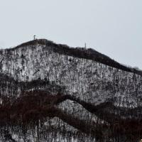2017.01.22 AM 08:43藻岩山・平和の塔・手稲山・円山・三角山