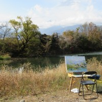 安曇野 白鳥湖