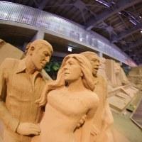 砂の美術館+smc PENTAX-DA FISH-EYE 10-17mm F3.5-4.5ED[IF]