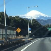 2.19(日)東名高速より