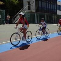 明日はジュニア自転車競技教室第五回を行います