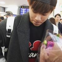 大宇@空港動画「こんにちは♡」