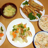 ある日の夕飯