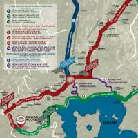 フィリピンのタガイタイ高速道建設計画。