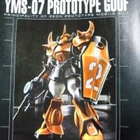 YMS07プロトタイプグフ製作