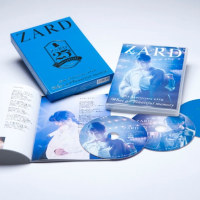 "ZARD、""青=ZARDブルー""をまとった25周年記念ライブDVDのアートワーク公開"