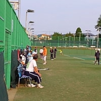 20170619記録(kata54)、朝テニス(北見シグマテニスクラブ)
