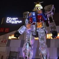 ガンダムフロント東京 プロジェクションマッピング