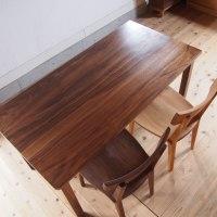 ブラックウォールナットのダイニングテーブル