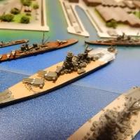 1/3000 横須賀軍港(2)「D氏宅訪問 艦船模型取材」 2016.DEC